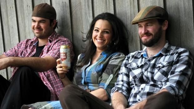 Nick Keeling, Jess Pryles and Pat Lillicrap