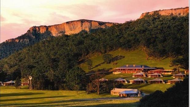 Wolgan Valley dusk