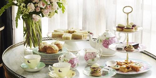 High Tea Time at Hotel Centennial