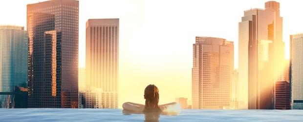 Take a Dip in Adelphi's Rooftop Pool