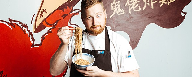 The New Fried Chicken & Noodle Pop-up Bar in the City